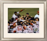 Red Sox Celebration - 2004 World Series victory over St. Louis &#169;Photofile Framed Photographic Print