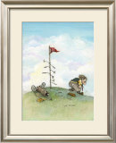 It's Only A Game Framed Giclee Print by Gary Patterson
