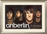 Cities Anberlin Pósters