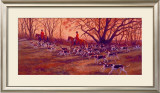 Happy Tails Framed Giclee Print by Susan Sponenberg