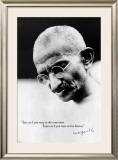 Gandhi Live Forever Posters