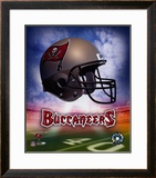 Tampa Bay Buccaneers Helmet Logo ©Photofile Framed Photographic Print