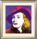 Ingrid with Hat Prints by Andy Warhol