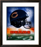Chicago Bears Helmet Logo ©Photofile Framed Photographic Print