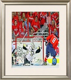 Marc-Andre Fleury 2008-09 Playoffs Framed Photographic Print