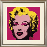 Marilyn, c.1967 (Hot Pink) Print by Andy Warhol