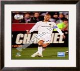 David Beckham 2008 Action(81) Framed Photographic Print