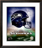 Seattle Seahawks Helmet Logo ©Photofile Framed Photographic Print
