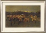 The Rugby Match Print by Wollen
