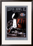 Super Bowl 40 Theme Art Print