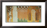 Beethoven Frieze Prints by Gustav Klimt