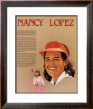 Hispanic Heritage - Nancy Lopez 17x22 Wall Poster