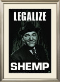 Three Stooges - Legalize Shemp Print