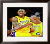 Kobe Bryant Game One of the 2009 NBA Finals Framed Photographic Print