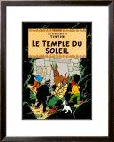Le Temple du Soleil, c.1949 Prints by  Hergé (Georges Rémi)
