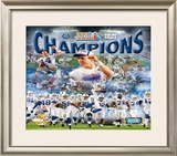 Indianaplois Colts Super Bowl XLI Framed Photographic Print