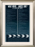 What Movie..Who's Line Clean Posters