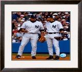 Alex Rodriguez & Derek Jeter - Vertical/Pinstripes ©Photofile Framed Photographic Print