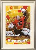 Calgary Flames - Miikka Kiprusoff Posters