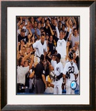 Derek Jeter - '04 Catch In Stands Framed Photographic Print