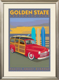 Golden State Print by David Grandin