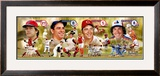 Hall of Fame- Catchers Framed Photographic Print