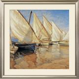 White Sails I Prints by Jaume Laporta
