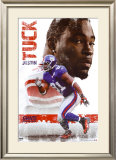 New York Giants - Justin Tuck Print