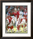 Steve Young - Calling Play Framed Photographic Print
