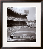 Yankee Stadium Left Field - 1955 World Series Opening Game ©Photofile Framed Photographic Print