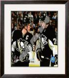 Sidney Crosby & Evgeni Malkin Framed Photographic Print