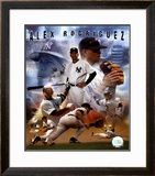 Alex Rodriguez 2005 - Composite Framed Photographic Print