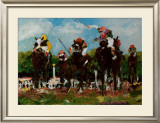Polo Ponies Poster by Nell Revel-Smith
