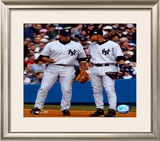 Alex Rodriguez & Derek Jeter - Vertical/Pinstripes ©Photofile Framed Photographic Print