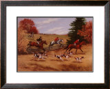Over We Go Framed Giclee Print by Susan Sponenberg