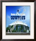 Cowboys Stadium Framed Photographic Print