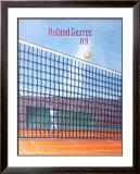 2009 Roland Garros Posters by Konrad Klapheck