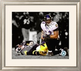 Ray Lewis Spotlight Collection Framed Photographic Print