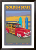 Golden State Prints by David Grandin