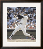 Reggie Jackson - Batting Action Framed Photographic Print