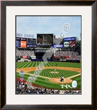 Yankee Stadium 2009 Inaugural Game Framed Photographic Print