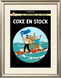 Coke en Stock, c.1958 Art by  Hergé (Georges Rémi)