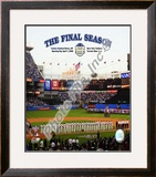 "Yankee Stadium 2008 Opening Day With Overlay ""The Final Season"" Framed Photographic Print"