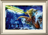 Star Wars - Yoda Unleashed Prints
