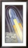 Frtiz Lang's Frau im Mond Framed Giclee Print