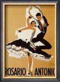 Rosario and Antonio, 1949 Art by Paul Colin
