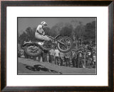 Classic Cross-Up Framed Giclee Print by Charlie Morey