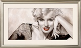 In Your Eyes, Marilyn Prints by Frank Ritter