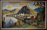 Austria Via Harwich Framed Giclee Print by C. Gorbatoff