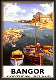 Bangor, Northern Ireland Framed Giclee Print by A.j. Wilson